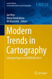 Cover Modern Trends in Cartography