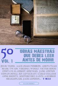 Cover 50 Obras Maestras que debes leer antes de morir
