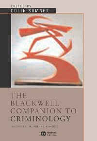 Cover The Blackwell Companion to Criminology