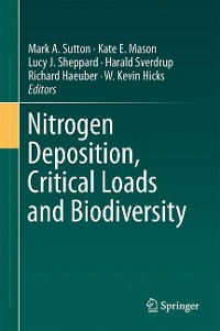 Cover Nitrogen Deposition, Critical Loads and Biodiversity