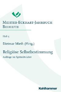 Cover Religiöse Selbstbestimmung