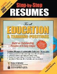Cover Step-by-Step RESUMES For all Education & Training Positions