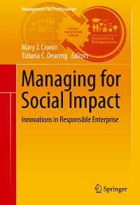 Cover Managing for Social Impact
