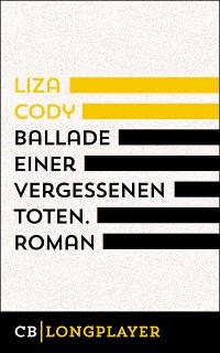Cover Ballade einer vergessenen Toten