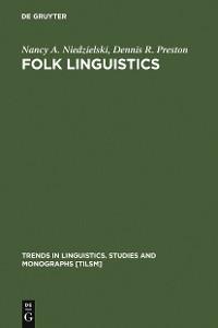 Cover Folk Linguistics