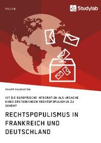 Cover Rechtspopulismus in Frankreich und Deutschland