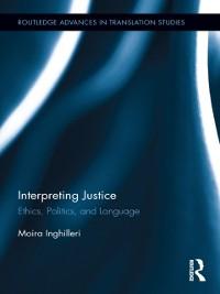 Cover Interpreting Justice