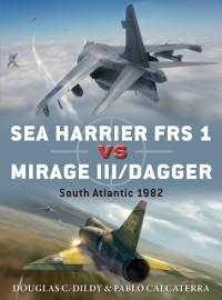 Cover Sea Harrier FRS 1 vs Mirage III/Dagger