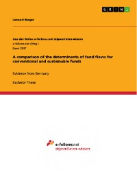 Cover A comparison of the determinants of fund flows for conventional and sustainable funds