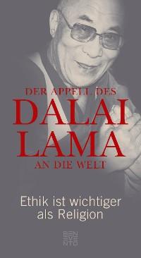 Cover Der Appell des Dalai Lama an die Welt