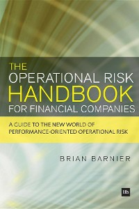 Cover The Operational Risk Handbook for Financial Companies