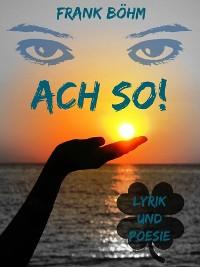 Cover Ach so!