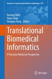 Cover Translational Biomedical Informatics