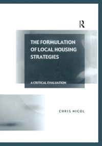 Cover Formulation of Local Housing Strategies