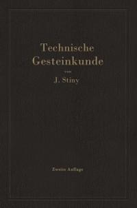 Cover Technische Gesteinkunde