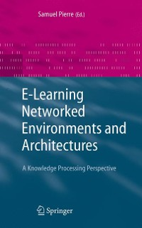 Cover E-Learning Networked Environments and Architectures