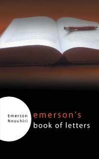 Cover Emerson's Book of Letters