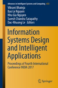 Cover Information Systems Design and Intelligent Applications