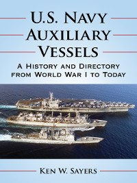 Cover U.S. Navy Auxiliary Vessels