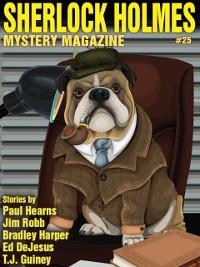 Cover Sherlock Holmes Mystery Magazine #25
