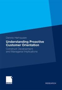 Cover Understanding Proactive Customer Orientation