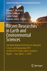 Cover Recent Researches in Earth and Environmental Sciences