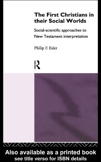 Cover First Christians in Their Social Worlds