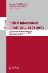 Cover Critical Information Infrastructures Security