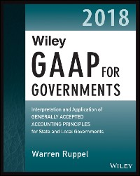 Cover Wiley GAAP for Governments 2018