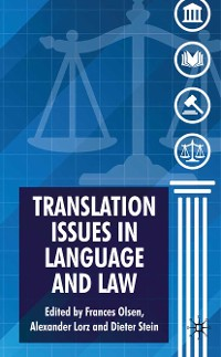 Cover Translation Issues in Language and Law