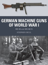 Cover German Machine Guns of World War I