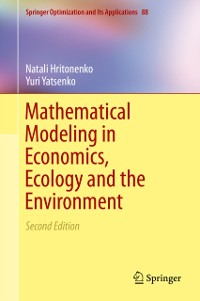 Cover Mathematical Modeling in Economics, Ecology and the Environment