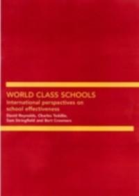 Cover World Class Schools