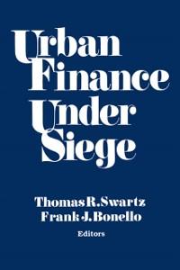 Cover Urban Finance Under Siege