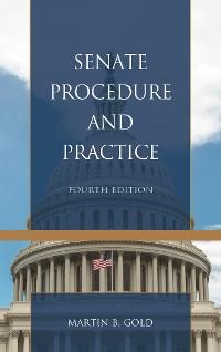 Cover Senate Procedure and Practice