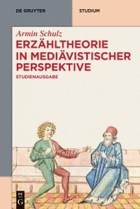 Cover Erzahltheorie in mediavistischer Perspektive