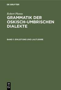 Cover Einleitung und Lautlehre