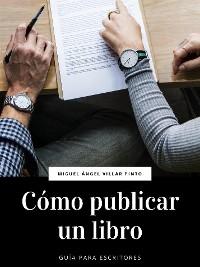 Cover Cómo publicar un libro