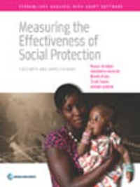 Cover Measuring the Effectiveness of Social Protection
