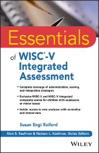 Cover Essentials of WISC-V Integrated Assessment