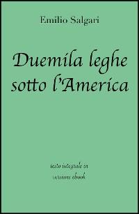 Cover Duemila leghe sotto l'America di Emilio Salgari in ebook