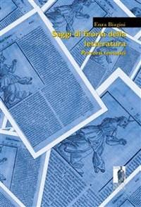 Cover Saggi di Teoria della letteratura
