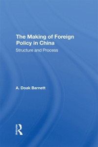 Cover Making Of Foreign Policy In China