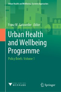 Cover Urban Health and Wellbeing Programme