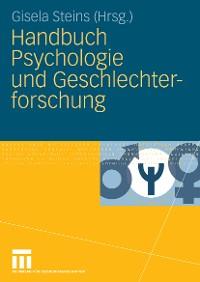 Cover Handbuch Psychologie und Geschlechterforschung