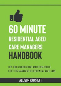 Cover 60 Minute Residential Aged Care Managers Handbook