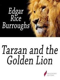 Cover Tarzan and the Golden Lion