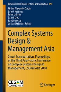 Cover Complex Systems Design & Management Asia