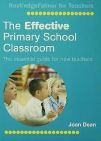 Cover Effective Primary School Classroom