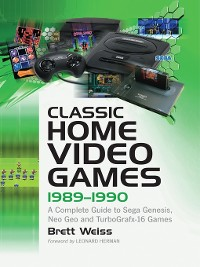 Cover Classic Home Video Games, 1989-1990